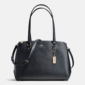 COACH Stanton Carryall in Stamped Snakeskin Leather