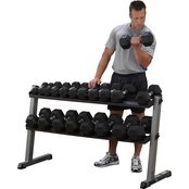 Body-Solid GDR60 2 Tier Dumbbell Rack