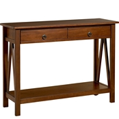Linon Titian Collection Console Table