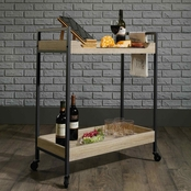Sauder North Avenue Rolling Cart