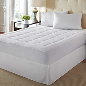 Rio Home Fashions Over Filled Microplush Mattress Pad
