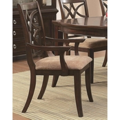 Homelegance Keegan Dining Arm Chair 2 Pk.
