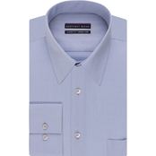 Geoffrey Beene Regular Fit Point Collar Dress Shirt