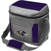 Jarden Sports Licensing NFL Baltimore Ravens 16 Can Soft Sided Cooler