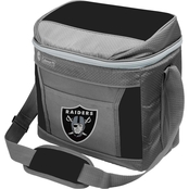 Jarden Sports Licensing NFL Las Vegas Raiders 16 Can Soft Sided Cooler
