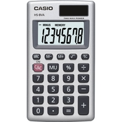 Casio HS-8VA Large Basic 8 Digit Solar Calculator
