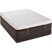 Stearns & Foster Lux Hybrid Caldera Plush Hybrid Mattress Set