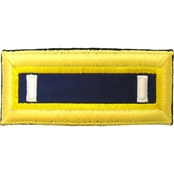 Army 1LT Chemical Male Shoulder Straps