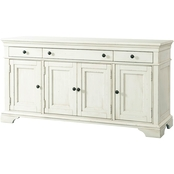Klaussner Trisha Yearwood Prizefighter Entertainment Console, Whipped Cream