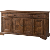 Klaussner Trisha Yearwood Prizefighter Entertainment Console, Coffee