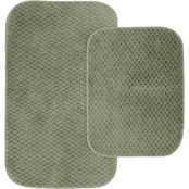 Garland 2 Pc. Cabernet Nylon Bath Rug Set