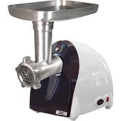 Weston #5 Electric Meat Grinder and Sausage Stuffer with 500 Watt Motor