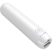 2600mAh 1A White Power Bank