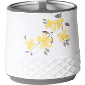 Saturday Knight Spring Garden Floral Toothbrush Holder