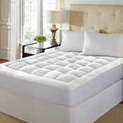 Rio Home Fashions Washable Memory Foam Mattress Pad