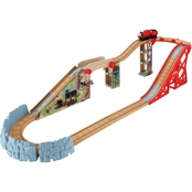 Fisher-Price Thomas & Friends Wooden Railway Speedway Surprise Drop Set