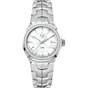 Tag Heuer Lady Link Quartz with Diamond Bezel WBC1314BA0600