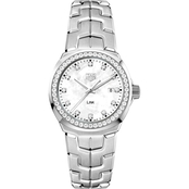 Tag Heuer Lady Link Quartz with Diamond Bezel WBC1316BA0600