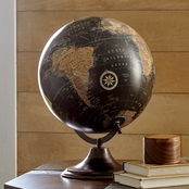 Signature Design by Ashley Oakden World Globe Sculpture