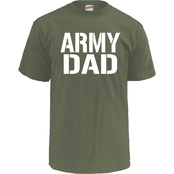 Soffe Army Dad Block Letters Tee