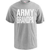 Army Grandpa Block Letters Tee