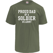 Soffe Proud Dad Of A Soldier Tee