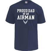 Soffe Proud Dad Of An Airman Tee