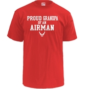 Soffe Proud Grandpa Of An Airman Tee