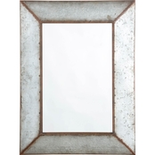 Signature Design by Ashley O'Tallay Wall Accent Mirror, Antique Gray, Urbanology