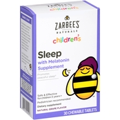 Zarbee's Naturals Children's Sleep with Melatonin Supplement