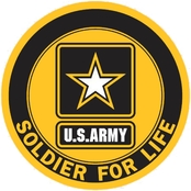 Soldier For Life Decal