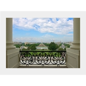 Capital Art US Capitol View of the Washington Monument From Speaker's Office Matte