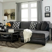 Benchcraft Kumasi 2 Pc. Sectional RAF Corner Chaise/LAF Sofa