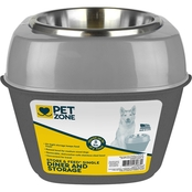 Our Pets Pet Zone Store-N-Feed Single Dinner and Storage