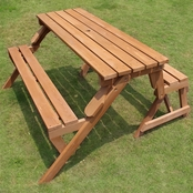 Merry Products Interchangeable Picnic Table/Bench