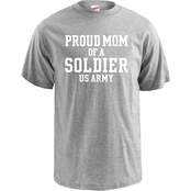 Soffe Proud Mom of a Soldier Tee