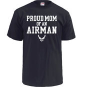 Soffe Proud Mom of an Airman Tee