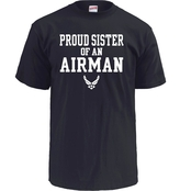 Soffe Proud Sister of an Airman Tee