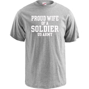 Soffe Proud Wife of a Soldier Tee