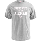 Soffe Proud Wife of an Airman Tee