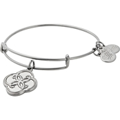 Alex and Ani Breath Of Life Charm Bangle