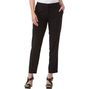 Kensie Stretch Crepe Ankle Pants