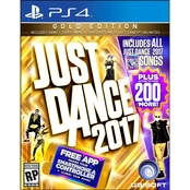 PRE-ORDER NOW! Just Dance 2017 Gold Edition (PS4)