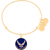 Alex and Ani Air Force Charm Bangle