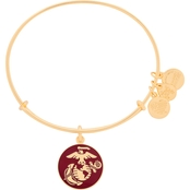 Alex And Ani US Marine Corps Charm Bangle