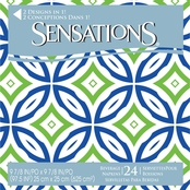 Sensations Lattice Design Beverage Napkins 24 ct.
