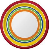 Sensations Designer 7 in. Lunch Plate 8 ct.