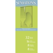 Sensations Assorted Cutlery, 32 ct.