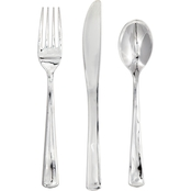 Sensations Assorted Metallic Cutlery, 24 ct.