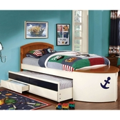 Furniture of America Boat Twin Bed